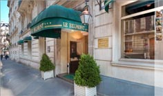 "Hotel "" BELMONT "" in Paris - 3 Star"